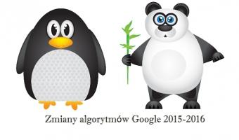 Zmiany w Google w latach 2015-2016