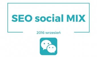 SEO social mix [wrzesień 2016]