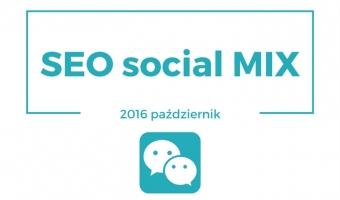 SEO social mix [październik 2016]