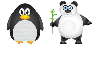 Konkurs z Pandą i Pingwinem w roli głównej